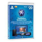 Tarjeta PlayStation Network de 20 Euros PS3/PS4/PS Vita