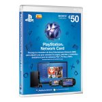 Tarjeta PlayStation Network de 50 Euros PS3/PS4/PS Vita