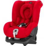 Britax Römer Silla de coche First Class plus Fire Red, rojo