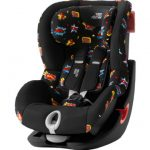 Britax Römer Silla de coche King II LS Black Series Comic Fun – negro