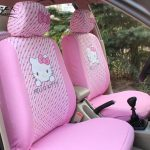 funda coche hello kitty